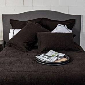 Kyler Quilted Bedspread - Asphalt Grey