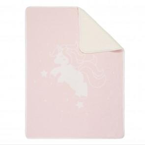 Unicorn Sherpa Baby Blanket