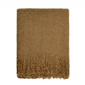 Cosy Throw - Rugby Tan