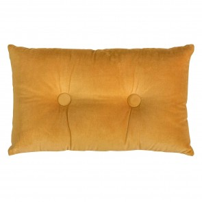 Oak Buff Velvet/Linen Cushion