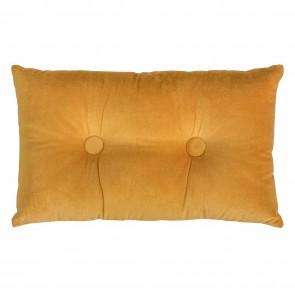 Oak Buff Velvet/Linen Cushion