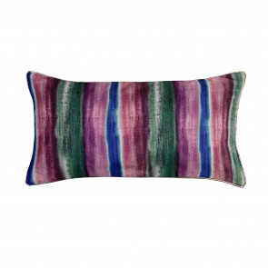 Velvet Wash Stripe Cushion