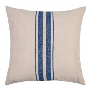 Classic Stripe Blue Square Cushion - 2 Pack