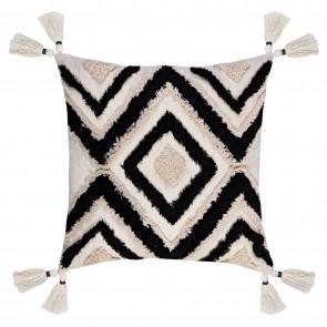 Nomad Zigzag Tassel Cushion