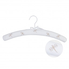 Dragonfly Embroidery Coat Hangers - 3 Pack