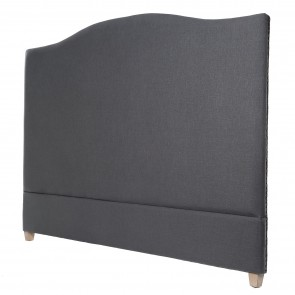 Annabel Linen Headboard Grey