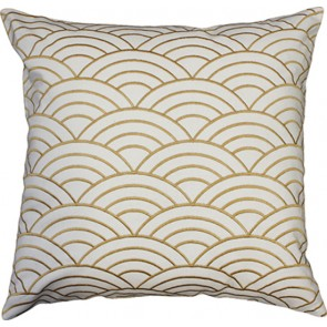 Mulberi Jazz Gold/White Cushion