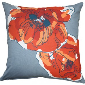 Mulberi Everbloom Bluestone Cushion