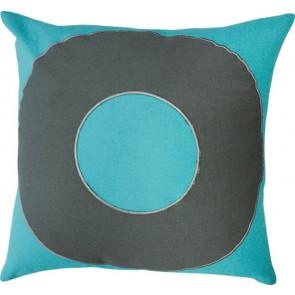 Mulberi TicTacToe Ring Cushion Scuba Blue