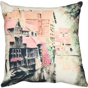 Mulberi Fairy Village Cushion