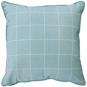 Limon Baltic Cooper - Duck Egg/White Cushion front