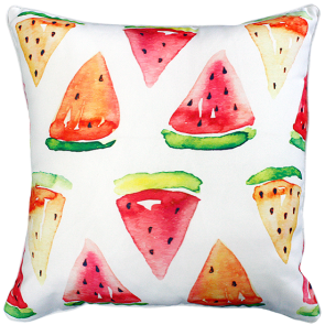 Mulberi In & Outdoor Watermelon Slices Cushion
