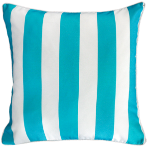 Mulberi In & Outdoor Cushion Cruise Stripe - Scuba Blue