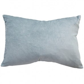 Mulberi Sovereign Velvet/Linen Cushion - Duck Egg