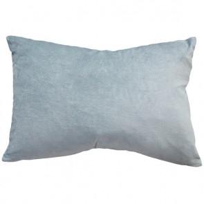 Mulberi Sovereign Velvet/Linen Cushion - Duck Egg