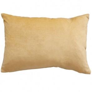 Mulberi Sovereign Velvet/Linen Cushion - Butter