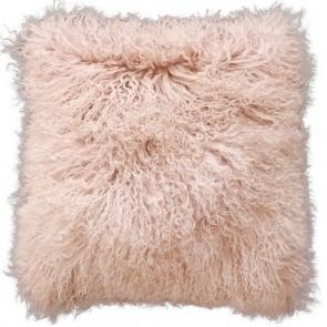 Mulberi Meru Tibetan Lam Cushion Blush Pink
