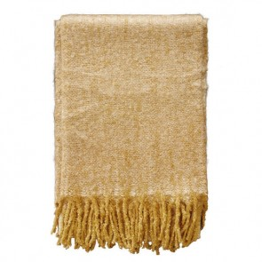 Mulberi Lyford Golden Straw Throw