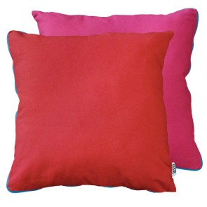 Limon Metrix Red Hot Pink Cushion