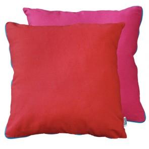 Limon Metrix Red Hot Pink Cushion