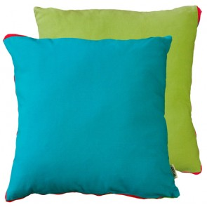 Limon Metrix Blue/Lime Cushion