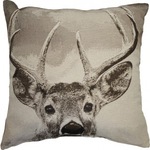 Limon Buck on the Lookout Cushion