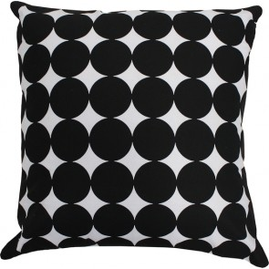 Limon Metro Spot Black/White Cushion