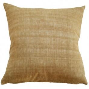 Mulberi Indira Ochre Cushion