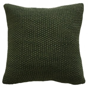Milford Moss Stitch Cushion - Spruce