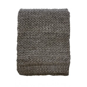 Mulberi Odette Taupe Throw