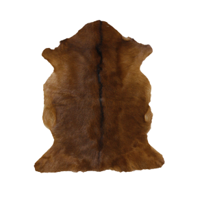 Mulberi Adore Natural Goat Fur Hide - Natural Brown