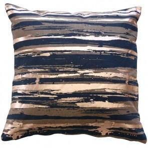 Limon Stardust Navy Rose Gold Cushion