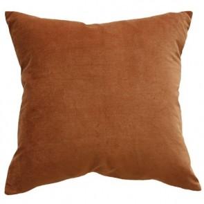 Mulberi Majestic Velvet/Linen Cushion - Nutmeg