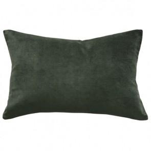 Mulberi Sovereign Velvet/Linen Cushion - Khaki