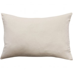 Mulberi Sovereign Velvet/Linen Cushion - Nude