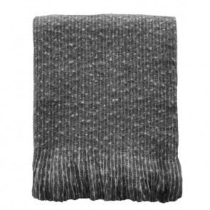 Mulberi Repose Grey Throw