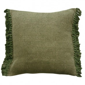 Limon Tigress Green-Natural Cushion