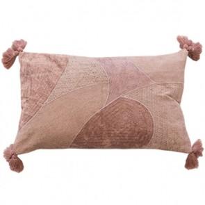 Mulberi Emilia Dusty Rose/Silver Cushion