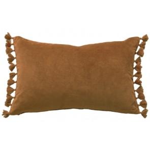 Mulberi Este Saddle Cotton Velvet Cushion