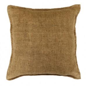 Mulberi Flaxmill 100% Linen Fenugreek Cushion