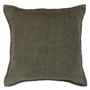 Mulberi Flaxmill 100% Linen Winter Moss Cushion