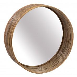 Striped III Round Mirror