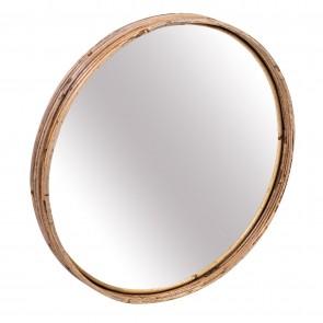 Rattan II Striped Mirror