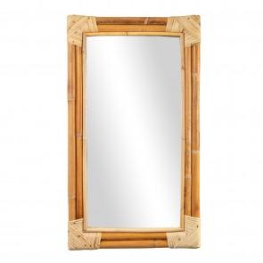 Rattan Long Mirror