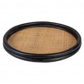 Rattan Round Tray 50cmD