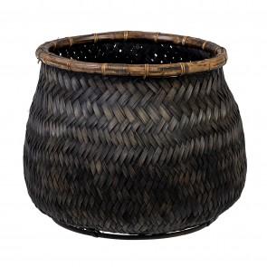 Handmade Bamboo Basket Medium