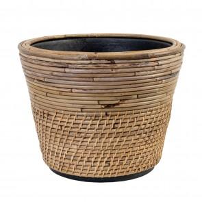 Drypot Rattan Lombok Planter - Large