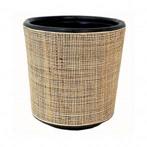 Drypot Rattan Webbing Planter - Small