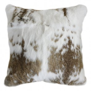 Collezióne Mottled Rabbit - Straw/White Cushion