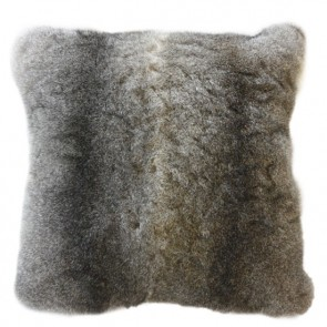 NZ Brushtail Opossum - Natural Grey Cushion